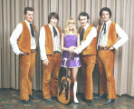 The Drifters:  Ed Julius, Kenny Jensen, Debbie Witt, Dan Foral and Jerry Frey