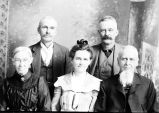 John, Laura, Edwin, Wilber and Elsie Cram