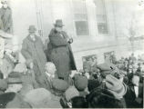 William Jennings Bryan giving a political speech