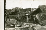 C.B.&Q. Railroad train wreck at Red Cloud, Nebraska, #2