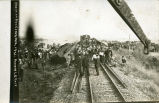 C.B.&Q. Railroad train wreck at Red Cloud, Nebraska, #6