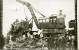 C.B.&Q. Railroad train wreck at Red Cloud, Nebraska, #1