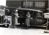 Bookmobile at Fremont Public Library