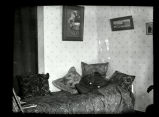 Bedroom in settlement house