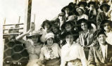 Crowd at football game, 1915