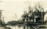 Flood scene, Mar. 30, 1912, Valley, Neb. (Gardiner Street)