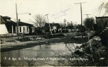 Residential st. after the flood of Mar. 30, 1912, Valley, Neb.